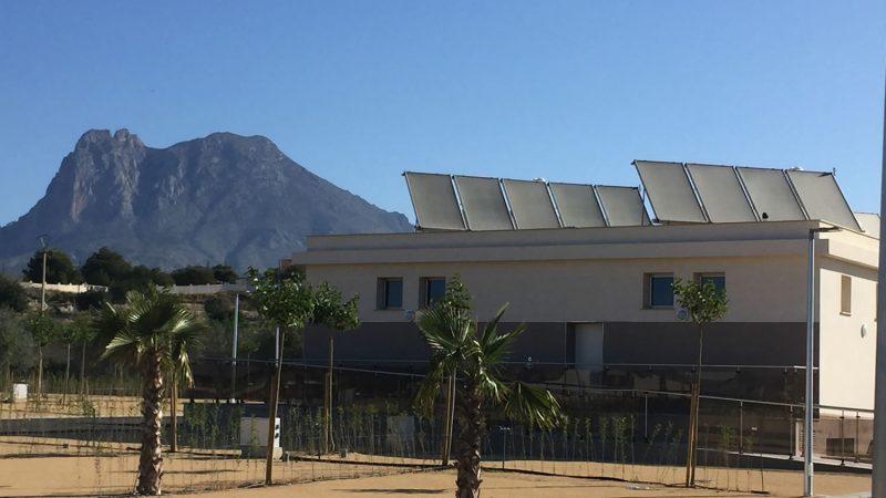 Instalación Solar en camping