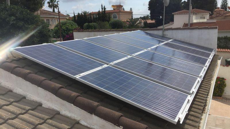 Instalacion de fotovoltaica