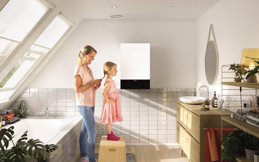 Nueva caldera Vitodens 200 de Viessmann: Confort eficiente