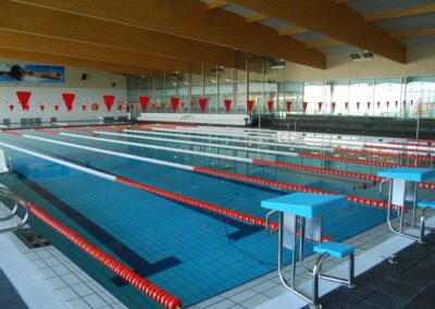 Climatización con calderas industriales en piscina pública climatizada de Villena (Alicante)