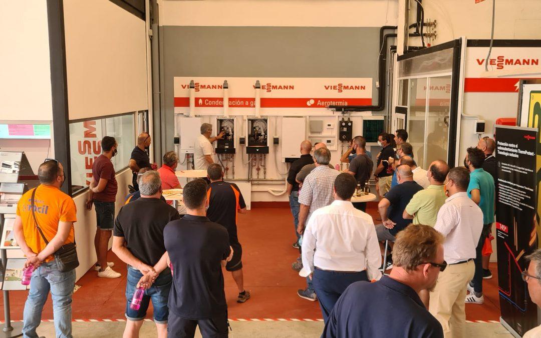 Te contamos todas las novedades presentadas en el RoadShow de Viessmann celebrado en Alicante